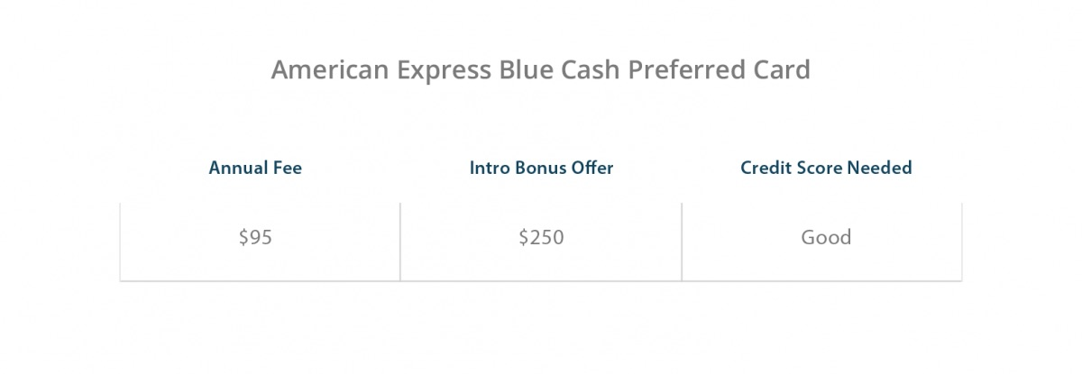 American Express Blue Cash Preferred Card Benefits